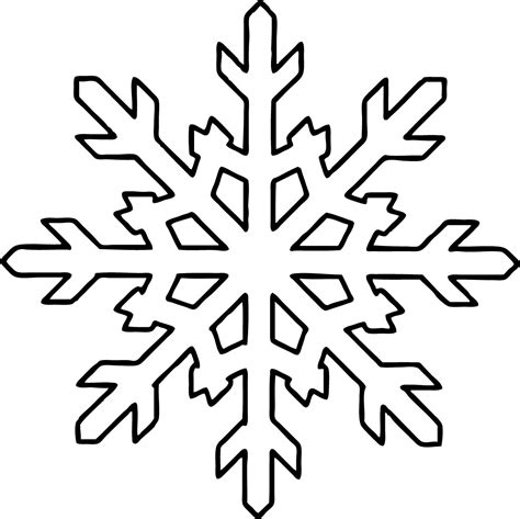 snowflake coloring pages snowflake coloring pages bestofcoloring