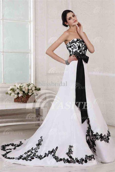 imagenes de vestidos de novia negro vestidos de novia blanco y negro alojamiento de im 225 genes