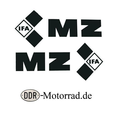 Mz Tank Aufkleber by Tankaufkleber Set Schwarz Mz Etz 250 Ddr Motorrad De