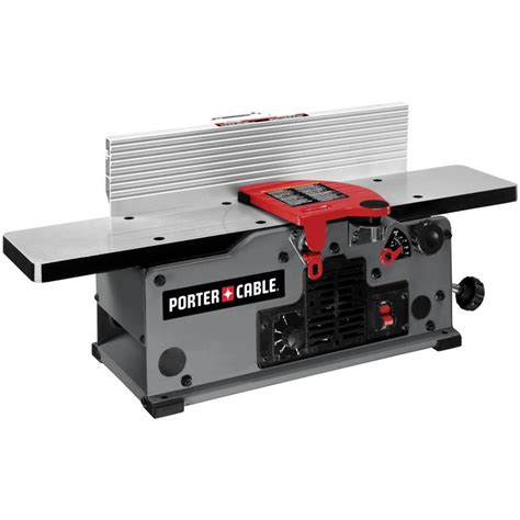bench joiners shop porter cable 10 amps amp bench jointer at lowes com