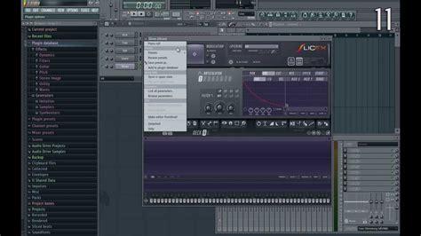 fl studio basic tip on 11 fl studio 11 tips youtube