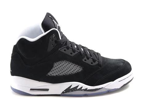 Nike Air 5 nike air 5 oreo black cool grey white in gray for oreo lyst