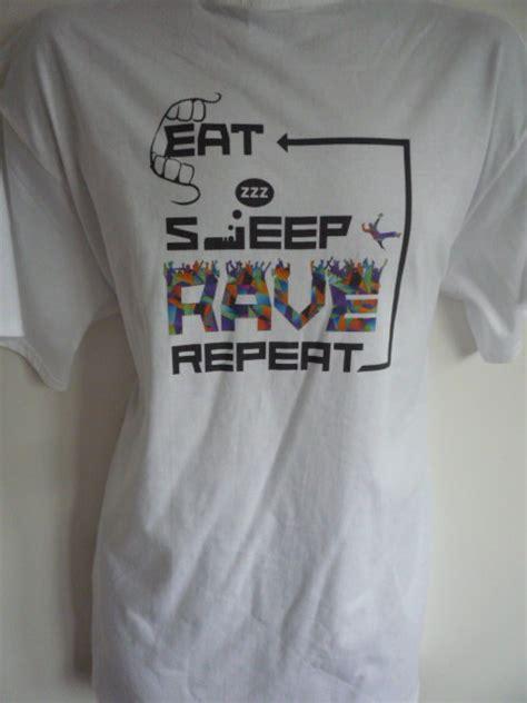 Kaos Calvin Harris Logo On Grey eat sleep repeat logo t shirt fatboy slim calvin harris ibiza ebay