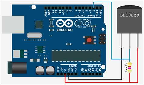 arduino ds18b20 wiring arduino free engine image for