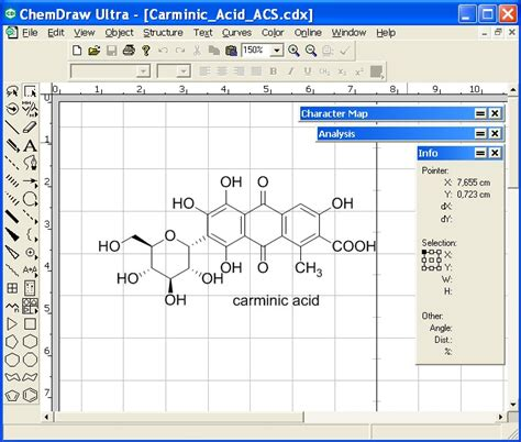 structure drawing software free chemdraw free free
