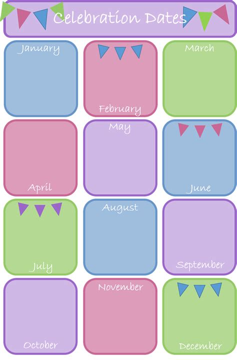 birthday calendar template birthday calendar template printable blank calendar 2018