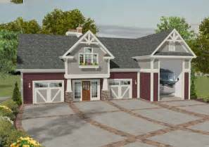 house with rv garage plan 20083ga rv garage with observation deck rv garage