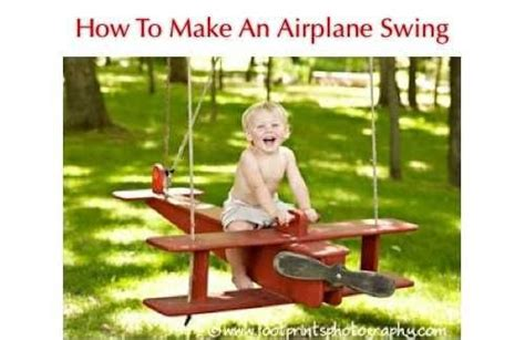 how to make your own swing how to make an airplane swing http homestead and