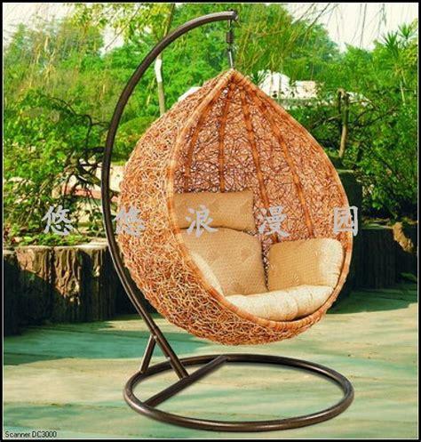 bamboo chair swing rattan casual swing bamboo basket balcony outdoor garden