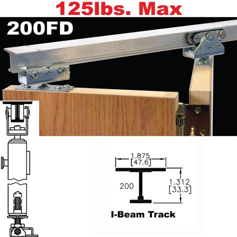 Bifold Barn Door Hardware Johnson Hardware 200fd Bi Fold Door Hardware Jhusa Net