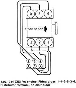 Ford Ranger 3 0 Firing Order Repair Guides Firing Orders Firing Orders Autozone
