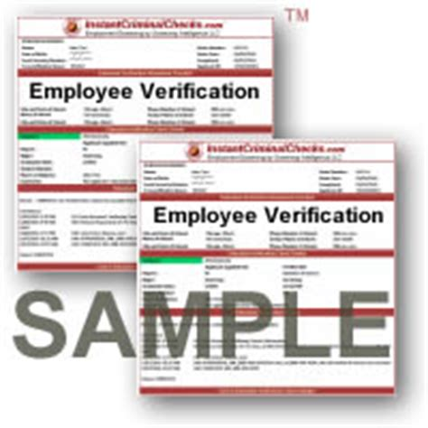 Employment Verification Background Check Employee Verification Background Check Employment