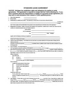 standard commercial lease agreement template sle business rental agreement template 7 free