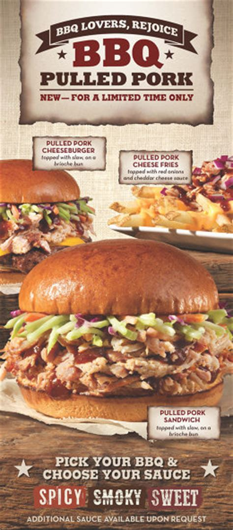 pulled pork dinner menu why wendy s wants to conquer the fast food world with bbq