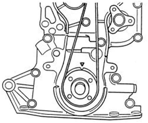 Replacing Timing Belt And Gear 2001 Dodge Dakota Pu 4 7