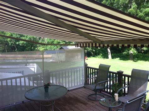 Awnings Massachusetts by Retractable Patio Awnings In Massachusetts Sondrini