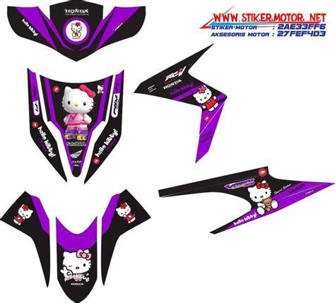 Striping Vario Techno Thailand striping motor honda vario techno hello kity stikermotor net