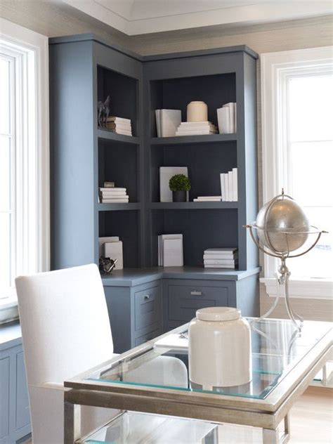 Modern Built In Desk by Modern Built In Desk And Cabinets Built Ins Gray