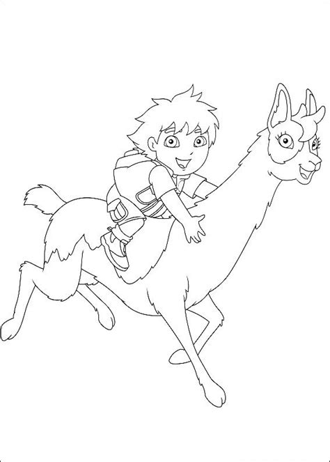 diego coloring pages to print free printable diego coloring pages for kids