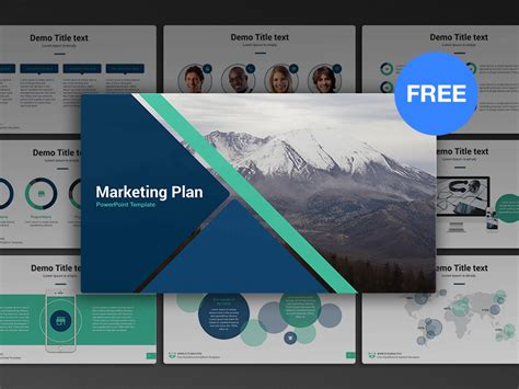 50 Best Free Cool Powerpoint Templates Of 2018 Updated Marketing Powerpoint Templates Free