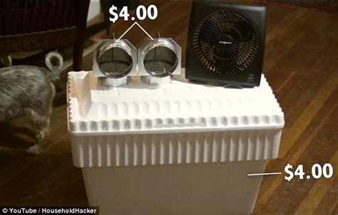 how to make a room cooler without ac household hacker builds air conditioner for only 8 daily mail