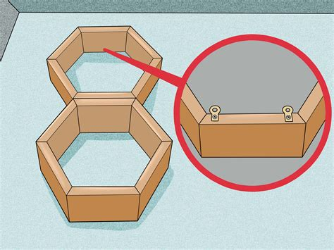 how to make honeycomb shelves 5 steps with