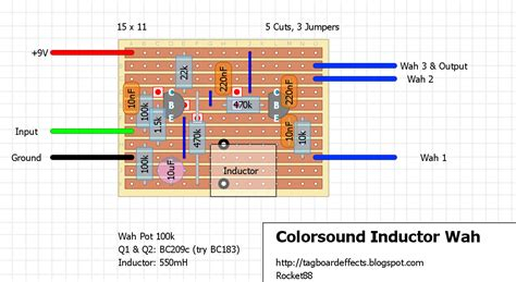 wah inductorless colorsound wah inductor 28 images colorsound inductorless wah mods colorsound wow pedal