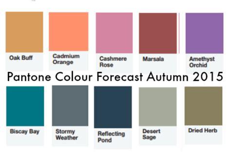 pantone colour forecast for autumn winter 2015