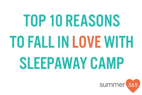 Top 10 Reasons To A This Summer by Top 10 Reasons To Fall In With Sleepaway C