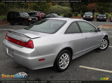 honda accord coupe 2002 2002 honda accord ex v6 coupe satin silver metallic