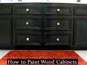 How To Paint Wooden Kitchen Cabinets by Pinterest