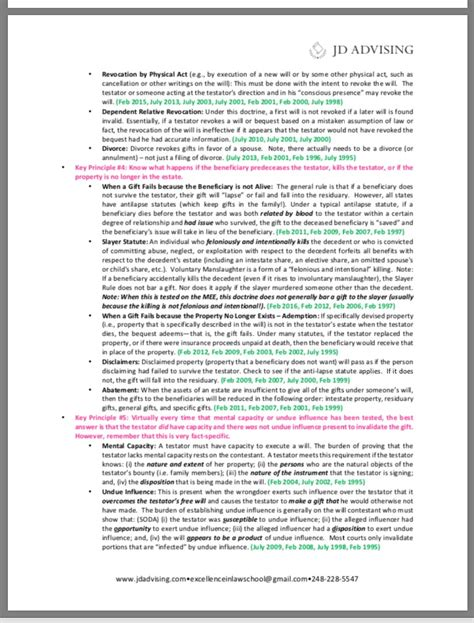 Multistate Essay Tips by Essay Sheet