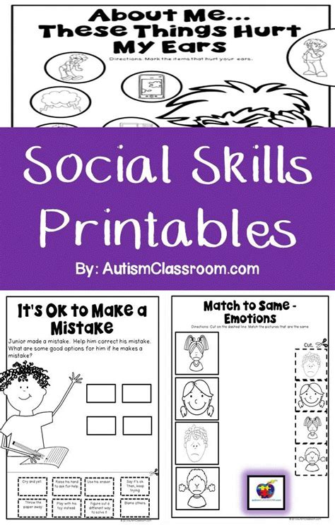 social skills handbook for autism activities to help learn social skills and make friends books social skills stories a collection of education ideas
