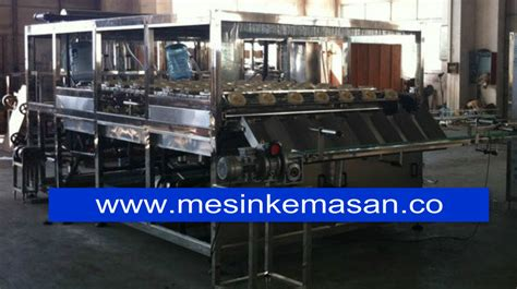 Mesin Cuci Galon chm 600 mesin pengisi galon kapasitas 600 galon jam