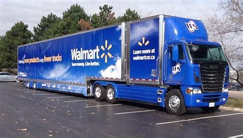 walmart canada tests  foot truck trailer joccom