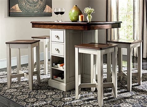 Dining Room Sets Buffalo Ny shea 5 pc counter height dining set oak dove gray