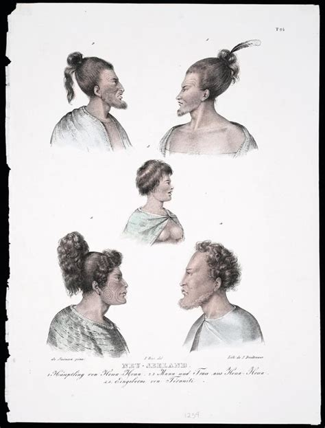 new zealand hair styles māori hairstyles 1826 māori clothing and adornment