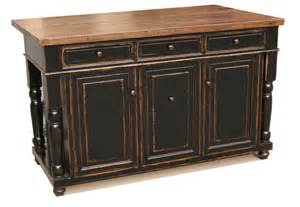 Black Distressed Kitchen Island Simon Gallery Furniture Custom Made Kitchen Island