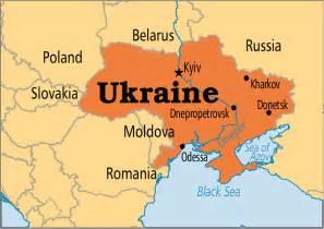 Ukraine World Map by Operation World Ukraine
