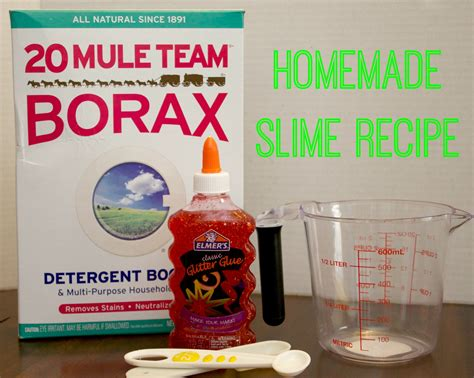 How To Make Home Made Slime by How To Make Glitter Slime With Only 3 Ingredients