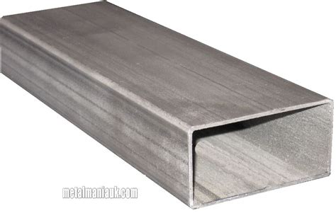 mild steel rectangular box section steel rectangular section 80mm x 40mm x 2mm x 500mm