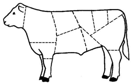 Beef Wholesale Cuts Worksheet