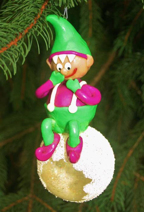 snowballing elf christmas ornament homemade christmas