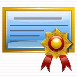 certificate image icon free #10313 free icons and png