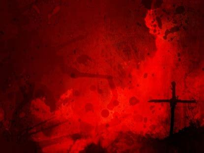 black and red christian cross cross red splatter graceway media worshiphouse media