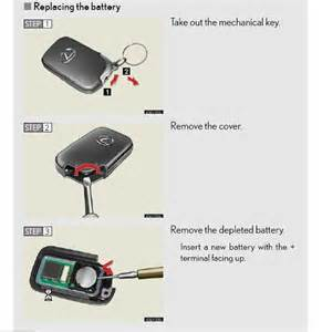 Lexus Key Battery Replacement Remove Battery From Key Fob Club Lexus Forums