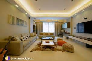 amazing Home Interior Design Indian Style #1: CreativeLivingRoomInteriorDesignIdeasbyPurpleDesigns3.jpg