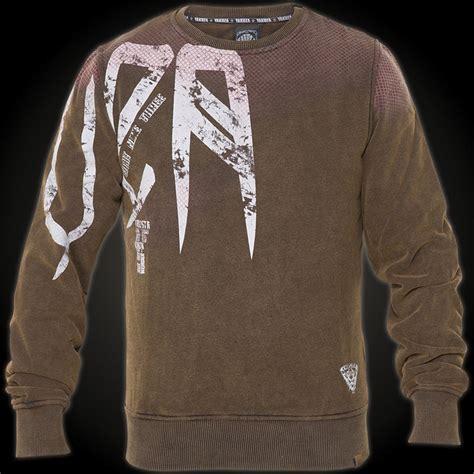 Pb Brown yakuza sweatshirt pb 429 brown sweater with a large