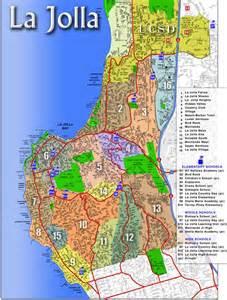 map of la jolla ca areas communities of la jolla