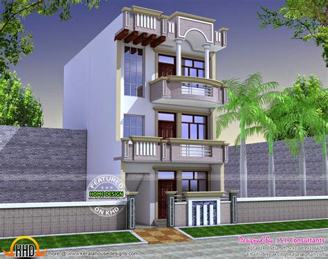 home design 15 30 22x60 house plan kerala home design and floor plans